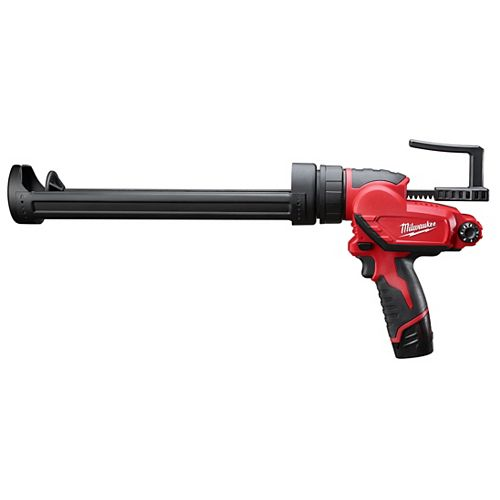 M12 12V Lithium-Ion Cordless Quart Caulk and Adhesive Gun Kit with (1) 1.5Ah Battery and Charger
