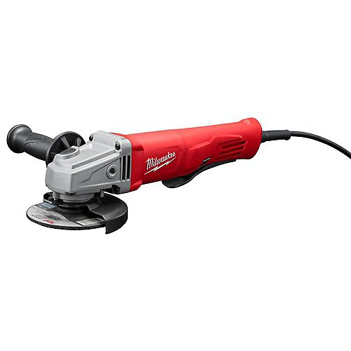 11 Amp Corded 4-1/2-inch Small Angle Grinder with Lock-On Paddle Switch
