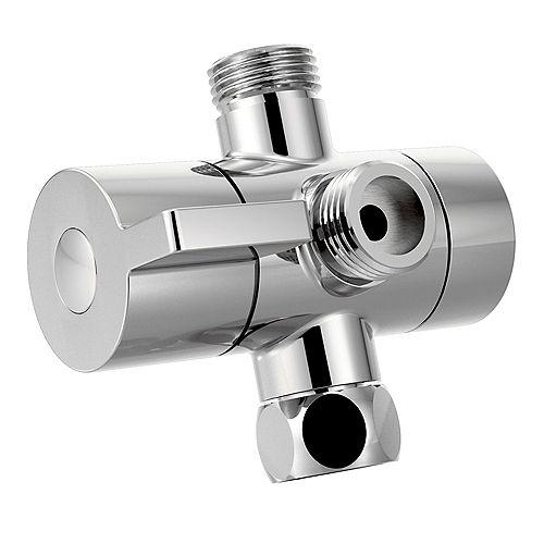 Shower Arm Diverter in Chrome