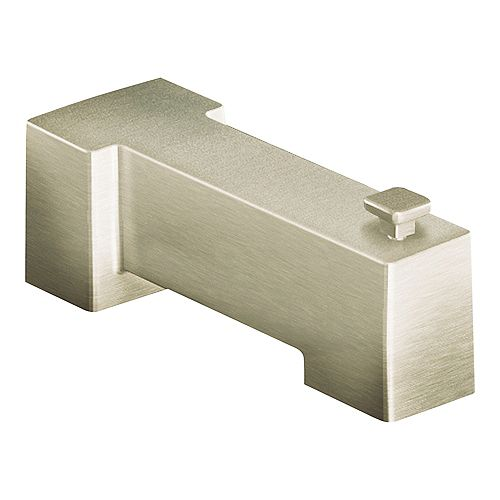 90-Degree Tub Spout in Brushed Nickel