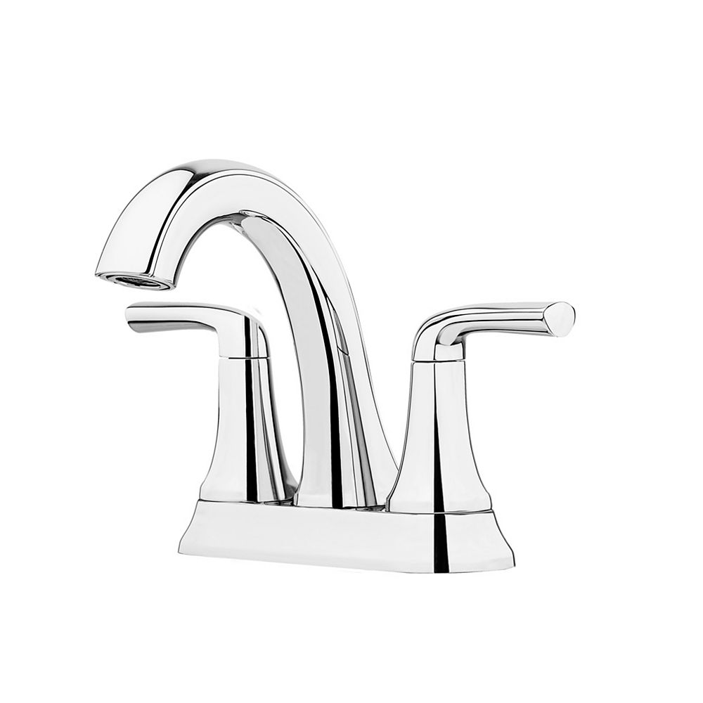 Ladera Centreset 20 Handle Bathroom Faucet in Polished Chrome