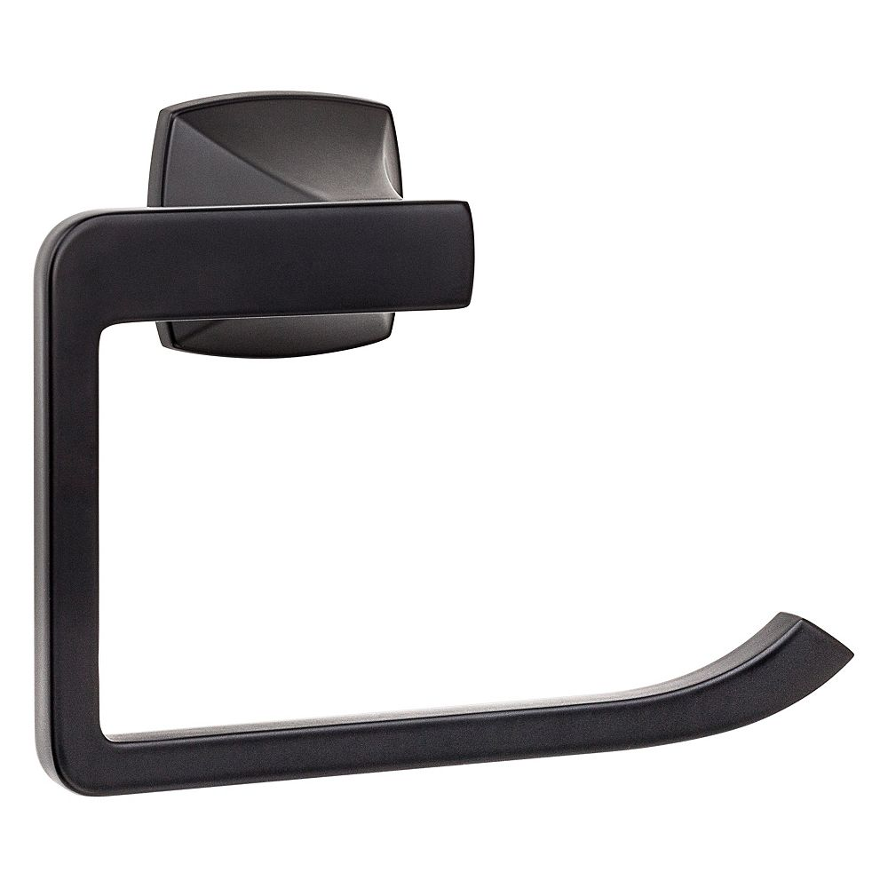 Pfister Venturi Towel Ring in Black