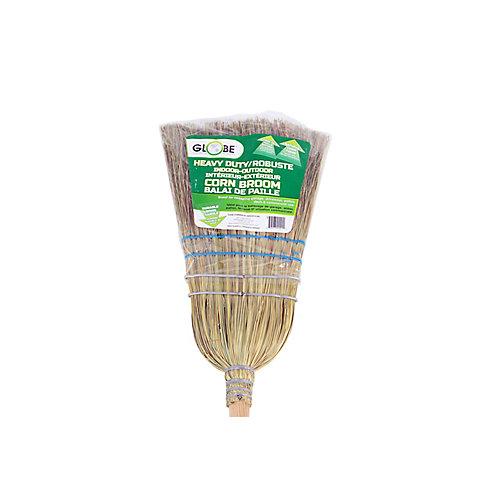Heavy-Duty Corn Broom 2 Wire 2 String