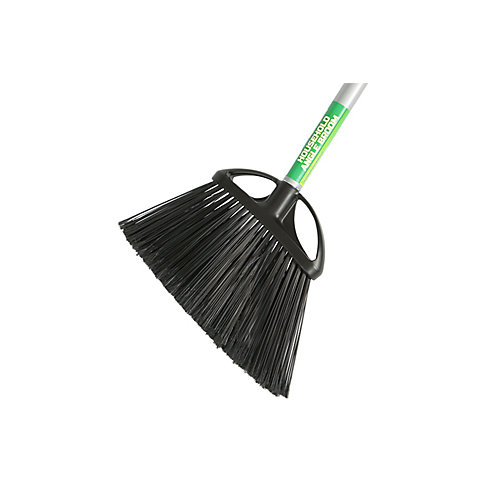 10 inch Angle Broom with 48 inch Metal Handle