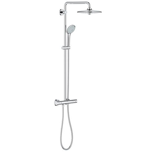 Euphoria 3-spray 10.25 inch Dual Shower Head and Handheld Shower Head in Chrome