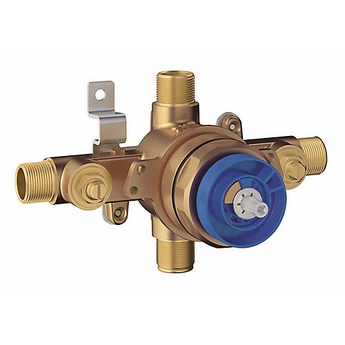 Grohsafe Universal Pressure Balance Rough-In valve.  1/2 Inlets Univeral  - 1/2 Outlets Universal