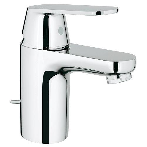 Robinet de salle de bains Eurosmart Cosmopolitan monotrou à poignée basse en chrome StarLight