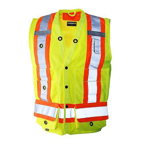 Hi-Vis Surveyor's Vest (Yellow) SZ L