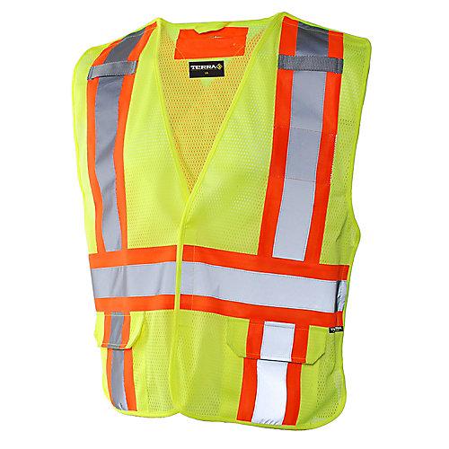 Hi-Vis 5-Point Tear Away Vest (Yellow) SZ S/M