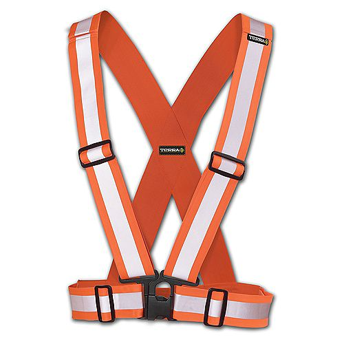 Hi-Vis Traffic Harness 2 inch (Orange)
