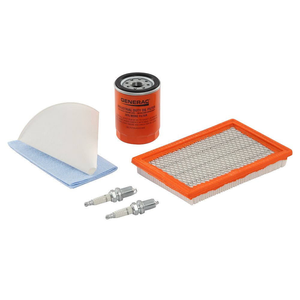 Generac Scheduled Maintenance Kit for Home Standby Generators with 10 kW 533cc Engines