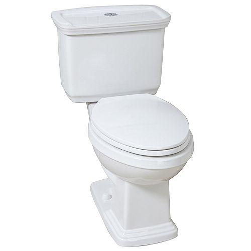 3.8/4.8 LPF Designer Dual Flush EL AIO Toilet