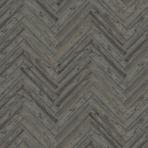 Night Haze Oak 4.72-inch x 28.35-inch Herringbone Luxury Vinyl Plank Flooring (22.31 sq. ft. / case)