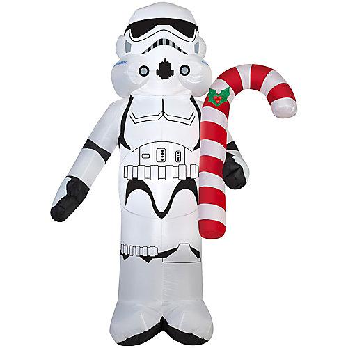 Airblown-Stormtrooper tenant un sucre d'orge-SM