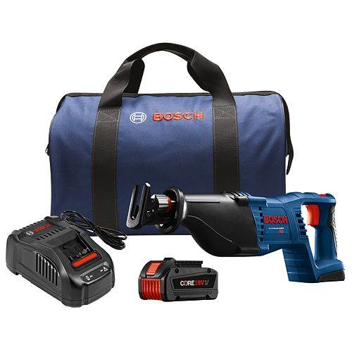 18-Volt 1-1/8 inch Cordless Reciprocating Saw Kit with CORE18V 6.3Ah Lithium-Ion Battery