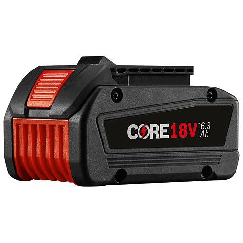 CORE18V 6.3Ah Li-Ion Battery