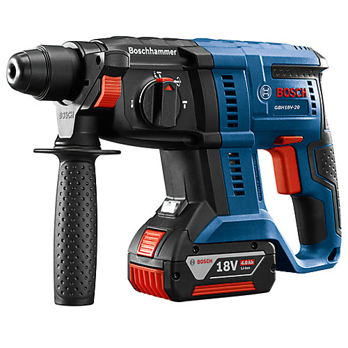 18-Volt Cordless 3/4 inch SDS-plus Rotary Hammer Kit with 4.0Ah FatPack Battery