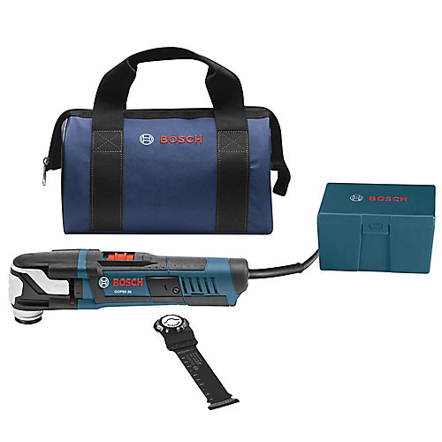 StarlockMax Variable Speed Oscillating Multi-Tool Kit with Carrying Bag (4-Piece)