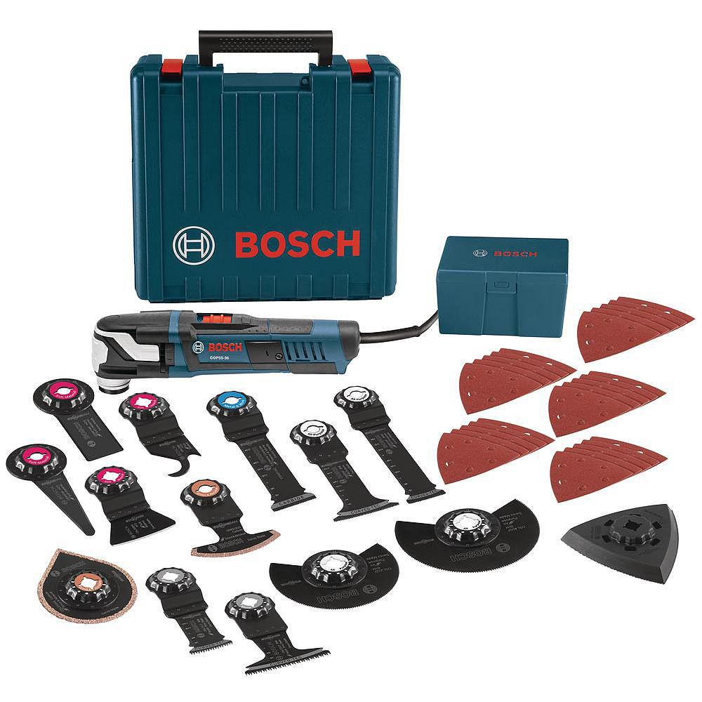 Bosch StarlockMax Oscillating Multi-Tool Kit with Case (40-Piece)