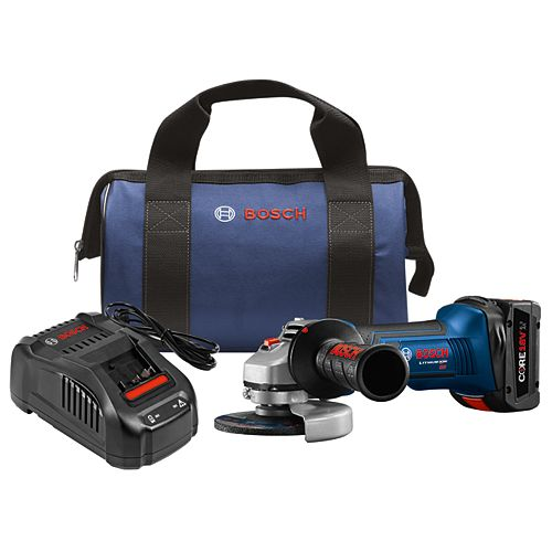 18-Volt 4-1/2 inch Cordless Angle Grinder Kit with 6.3Ah CORE18V Lithium-Ion Battery