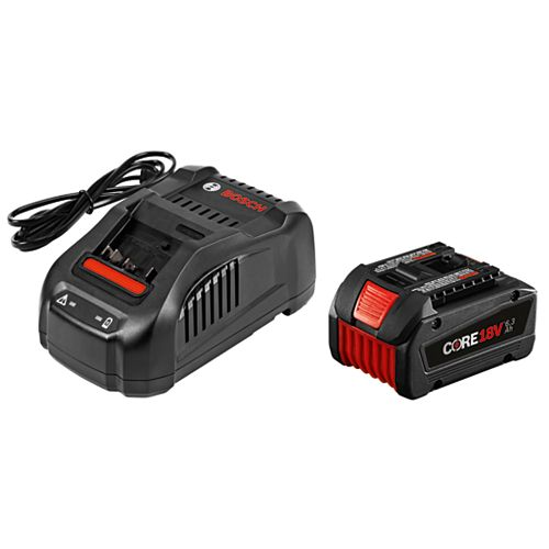 CORE18V 18-Volt 6.3Ah Lithium-Ion Battery Starter Kit with Charger