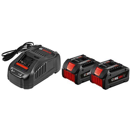 CORE18V Starter Kit with 2 6.3Ah Li-Ion Batteries