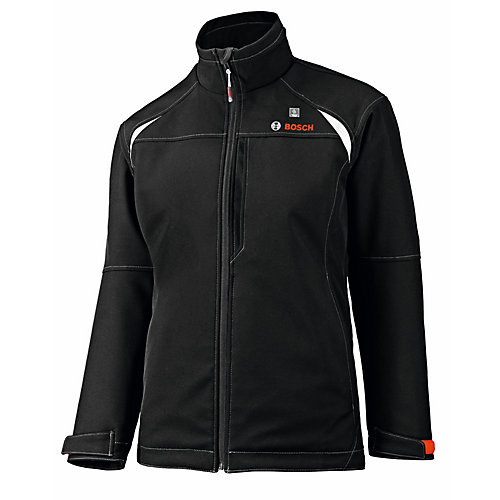 12-Volt Women's Black Heated Jacket - Size X-Large
