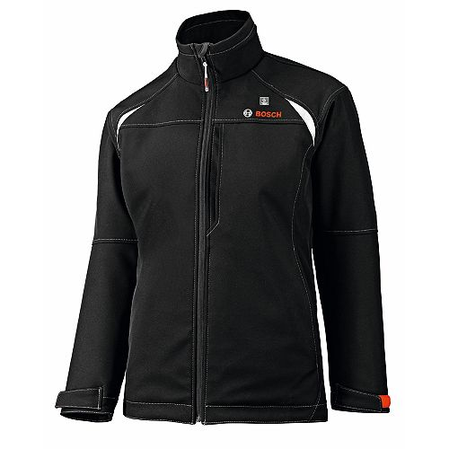 12-Volt Women's Black Heated Jacket - Size X-Large