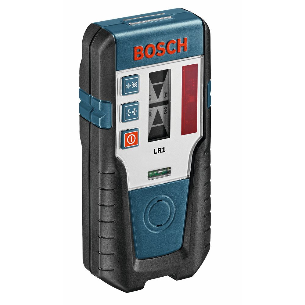 Bosch Red Beam Rotary Laser Receiver with Mounting Bracket