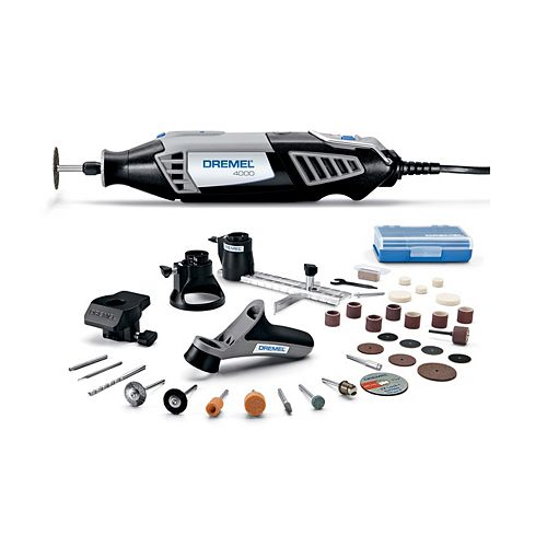 4000 Series 1.6 Amp Corded Variable Speed Rotary Tool Kit with 38 Accessories and Hard Carrying Case