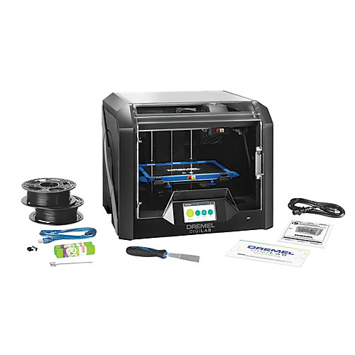 DigiLab 3D45 3D Printer with Built-In Wifi and Guided Leveling