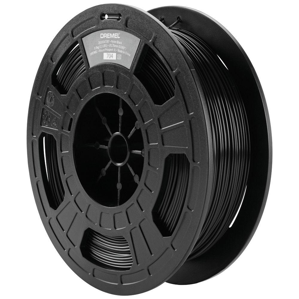 Dremel Black Nylon 3D Printer Filament DF45-NYP-B