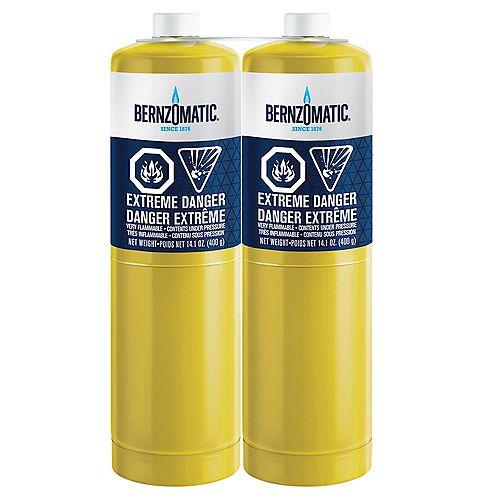 Bernzomatic 14.1 oz. Map-Pro Cylinder (2-Pack)