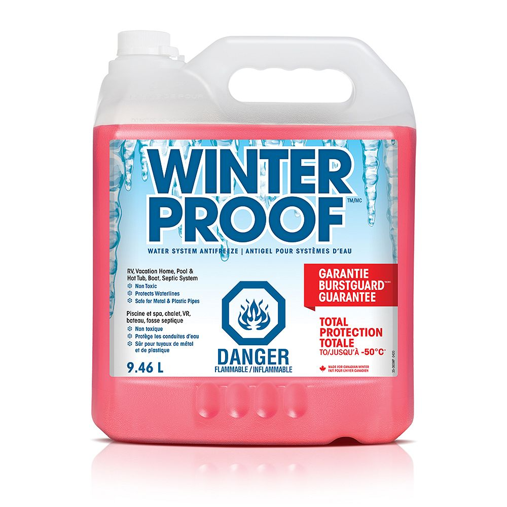 Winterproof Water System Antifreeze 9 46l The Home Depot Canada