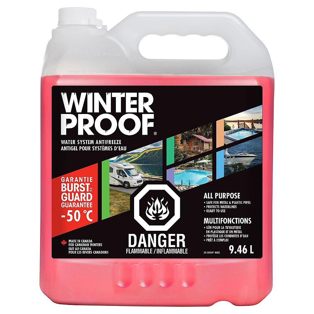 Winterproof Water System Antifreeze 9 46l The Home Depot Canada
