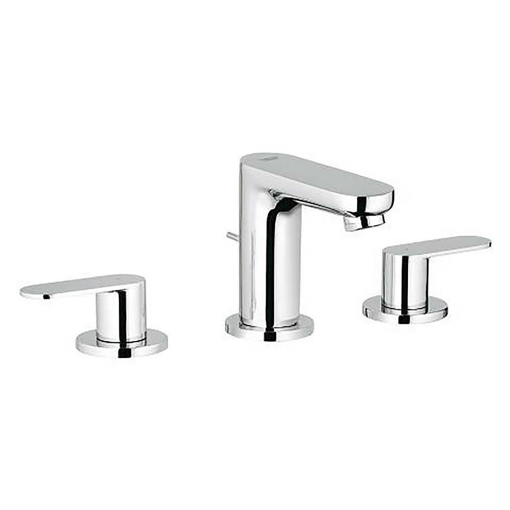 GROHE Eurosmart Cosmopolitan 8-inch Widespread 2-Handle 1.2 GPM Bathroom Faucet in StarLight Chrome
