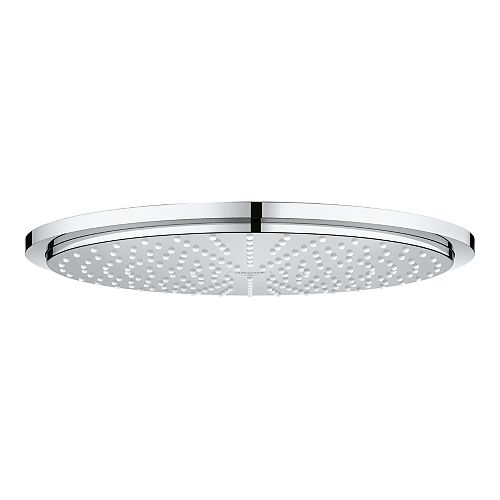 GROHE 1-Spray 12-inch Single Ceiling Mount Fixed Rain Shower Head in StarLightChrome