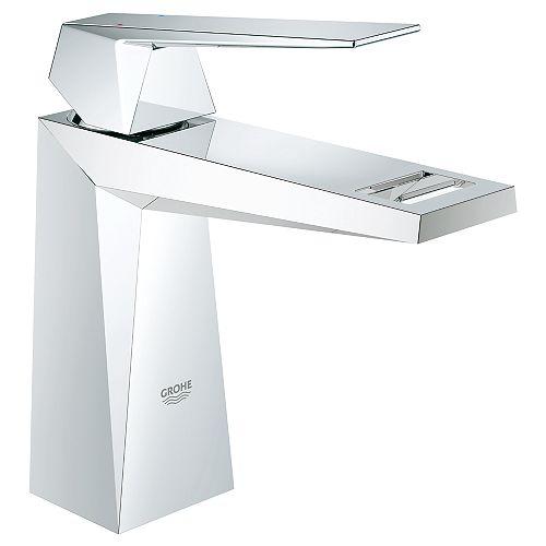 Robinet de salle de bains Allure Brilliant à simple trou et à poignée unique de 1,2 GPM en chrome StarLight