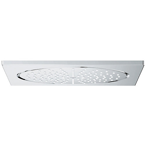 Pomme de douche à fixation au plafond de 10po Rainshower sérieF -mode de pulvérisation unique