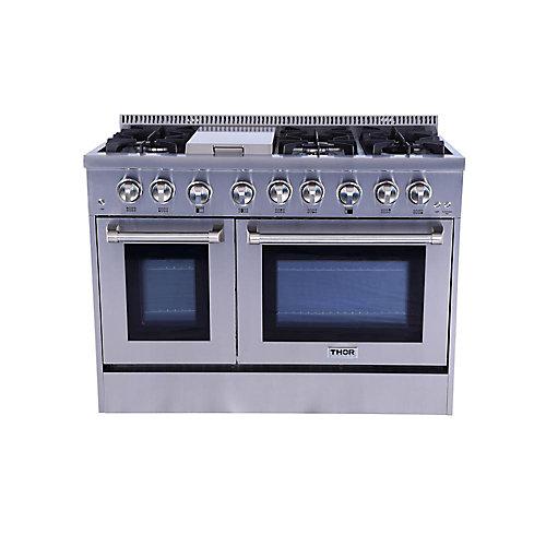 """Cuisinière biénergie 48"""""""