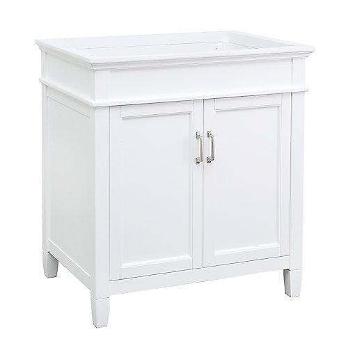 Ashburn 30 inch Vanity Cabinet in White
