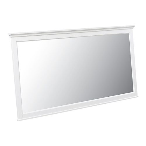 Mirroir Ashburn blanc de 60po x 31po