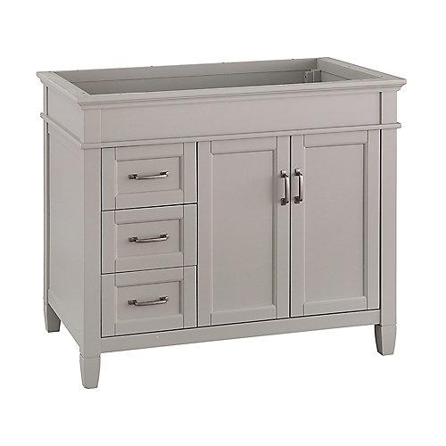 Ashburn 36 inch Vanity Cabinet in Grey