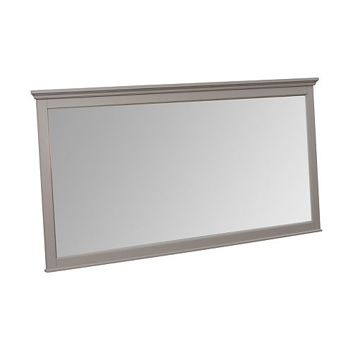 Mirroir Ashburn gris de 60po x 31po