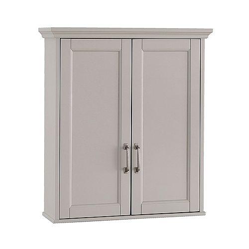 Ashburn 23.5 inch x 28 inch Wall Cabinet in Grey