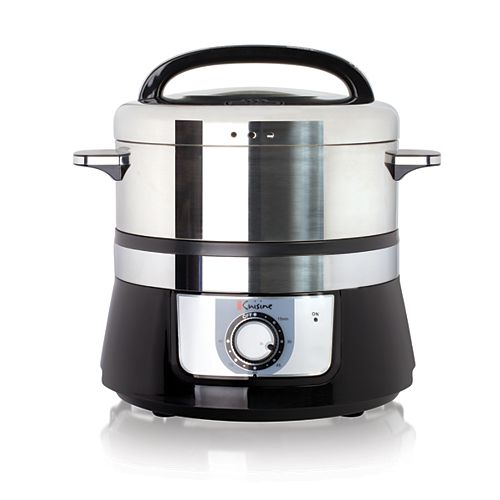 Euro Cuisine Electric Food Steamer - 5L