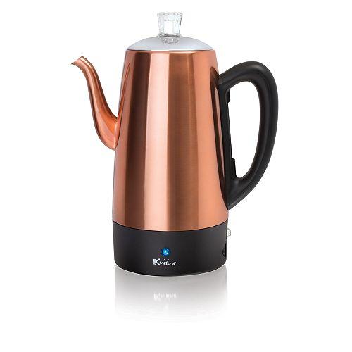 Percolateur à café électrique - 12 tasses