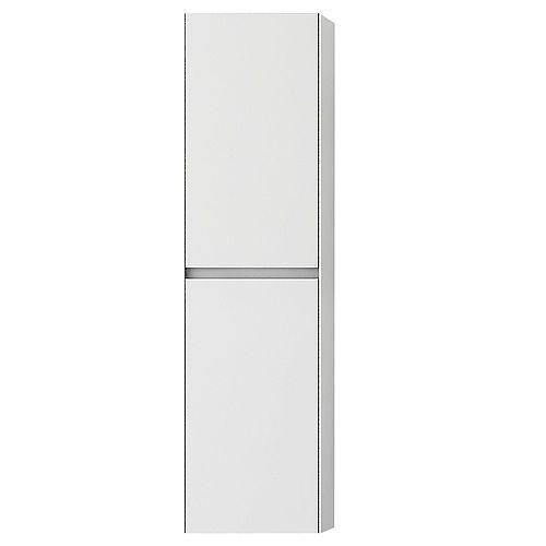Morgan 13 inch Wall-Mounted Modern White Bathroom Cabinet