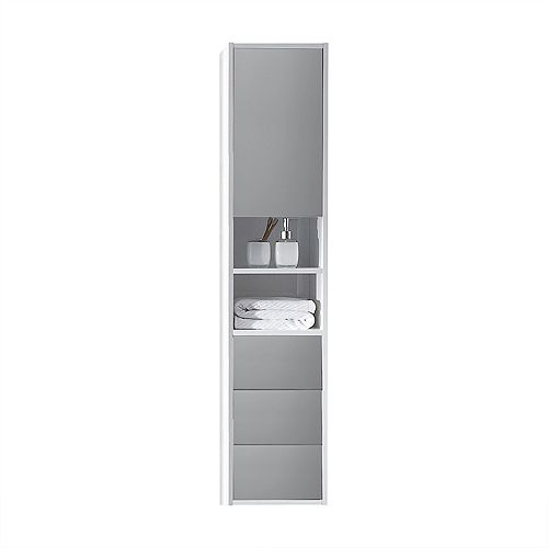 Emma 19 inch Wall-Mounted Modern Bathroom Cabinet