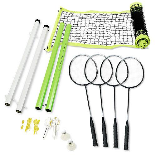 Ensemble De Badminton Intermédiaire Pour 4Joueurs